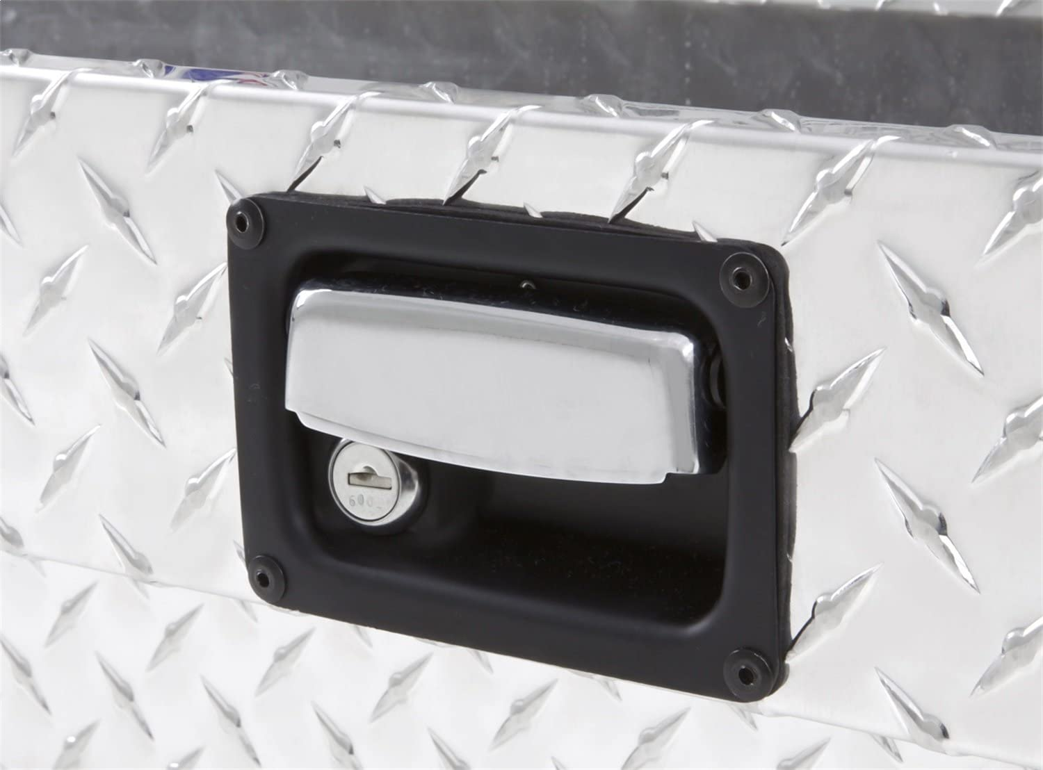 Lund 9748 48-Inch Aluminum Side Mount Box Silver Diamond Plated