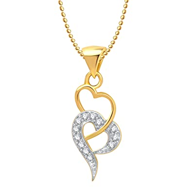 with quot heart white accent diamond dp necklace gold locket