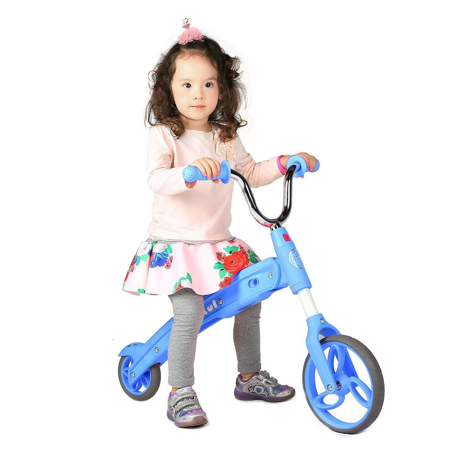 Vokul GX02 Kid Balance Bike Toddler Scooter Without Pedal for Age 3-5/Blue