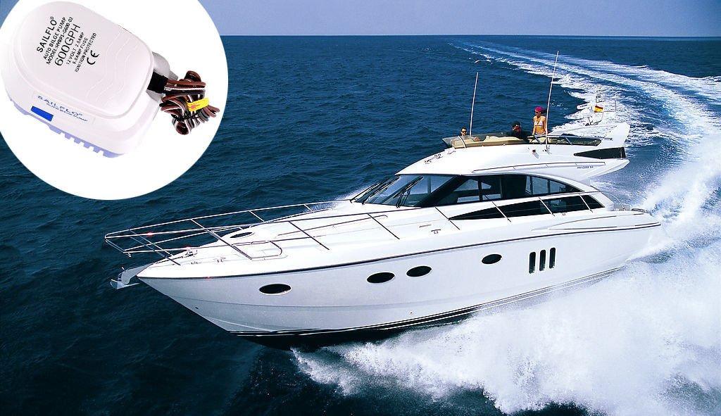 SAILFLO 600GPH Automatic Bilge Submersible Pumps All-in-one Marine Bilge Pump 4 Year Warranty Boat Auto Yacht RV