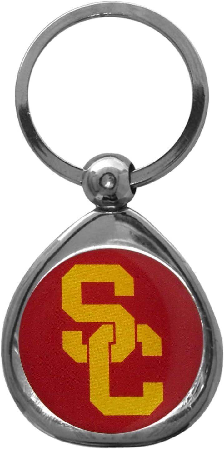 NCAA Siskiyou Sports Fan Shop USC Trojans Chrome Key Chain One Size Team Colors : Sports Fan Keychains : Sports & Outdoors