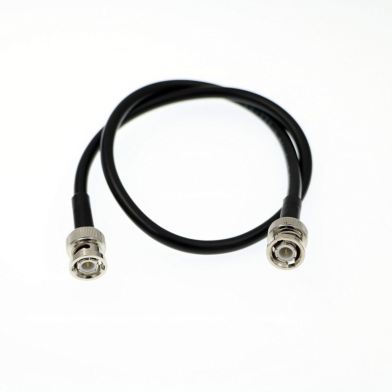 Uonecn HD SDI BNC Male to Male Flexible 6G Video Coaxial Cable for Blackmagic 4K Camera