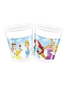 COOLMP - Lote de 12 Vasos de plástico de 20 cl, diseño de ...
