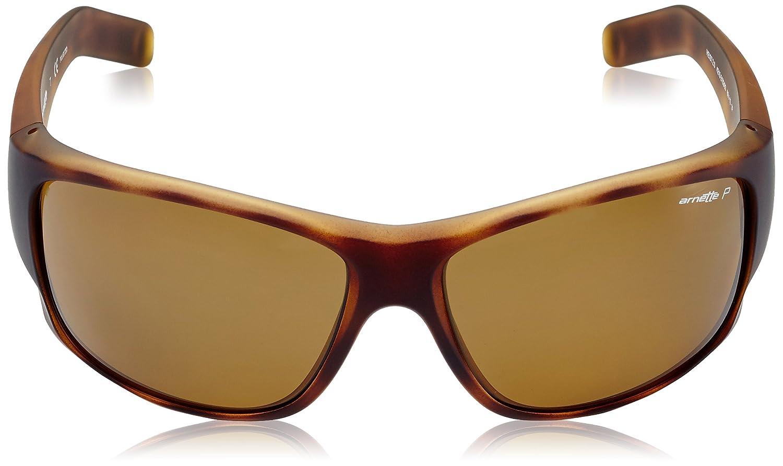 6c8225215dc Amazon.com  Arnette Men s Heist 2.0 0AN4215 Polarized Rectangular  Sunglasses