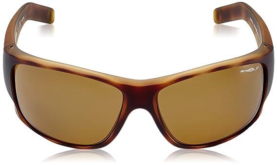 Arnette Herren Sonnenbrille 0AN4215 215283, Braun (Fuzzy Havana/Polarbrown), 66