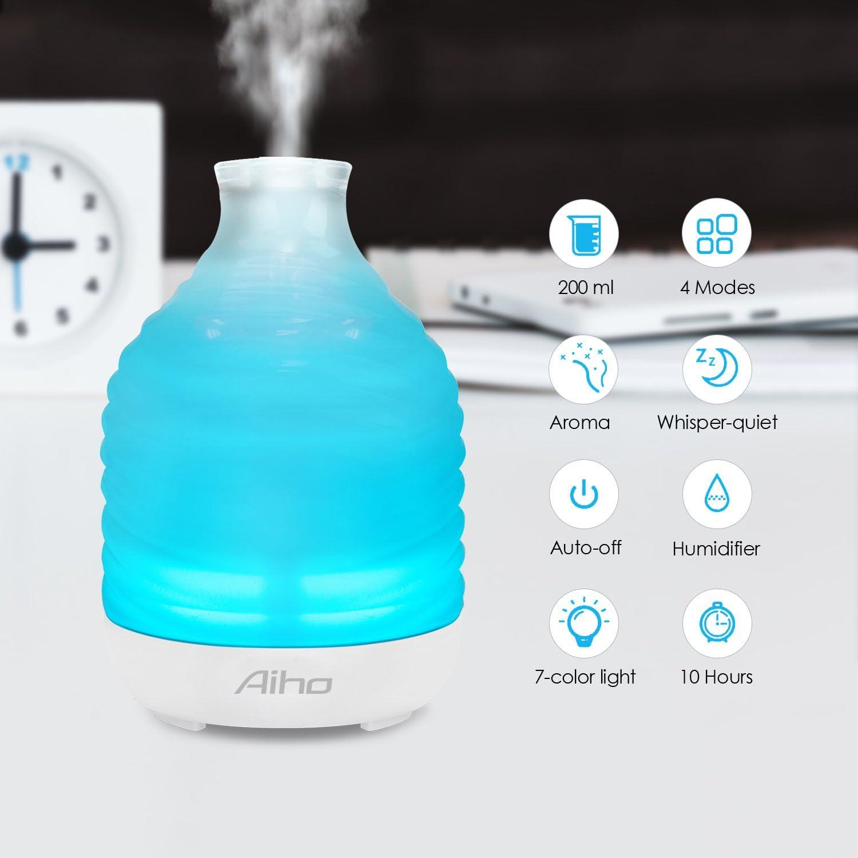 Umidificatore Nebulizzatore a ultrasuoni Diffusore di aromi Soil Calla 21lw Diffusore elettrico