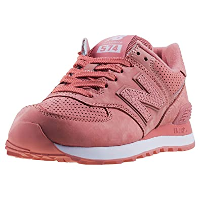 4509aec151c9 New Balance 574 Womens Sneakers Pink  Amazon.com.au  Fashion
