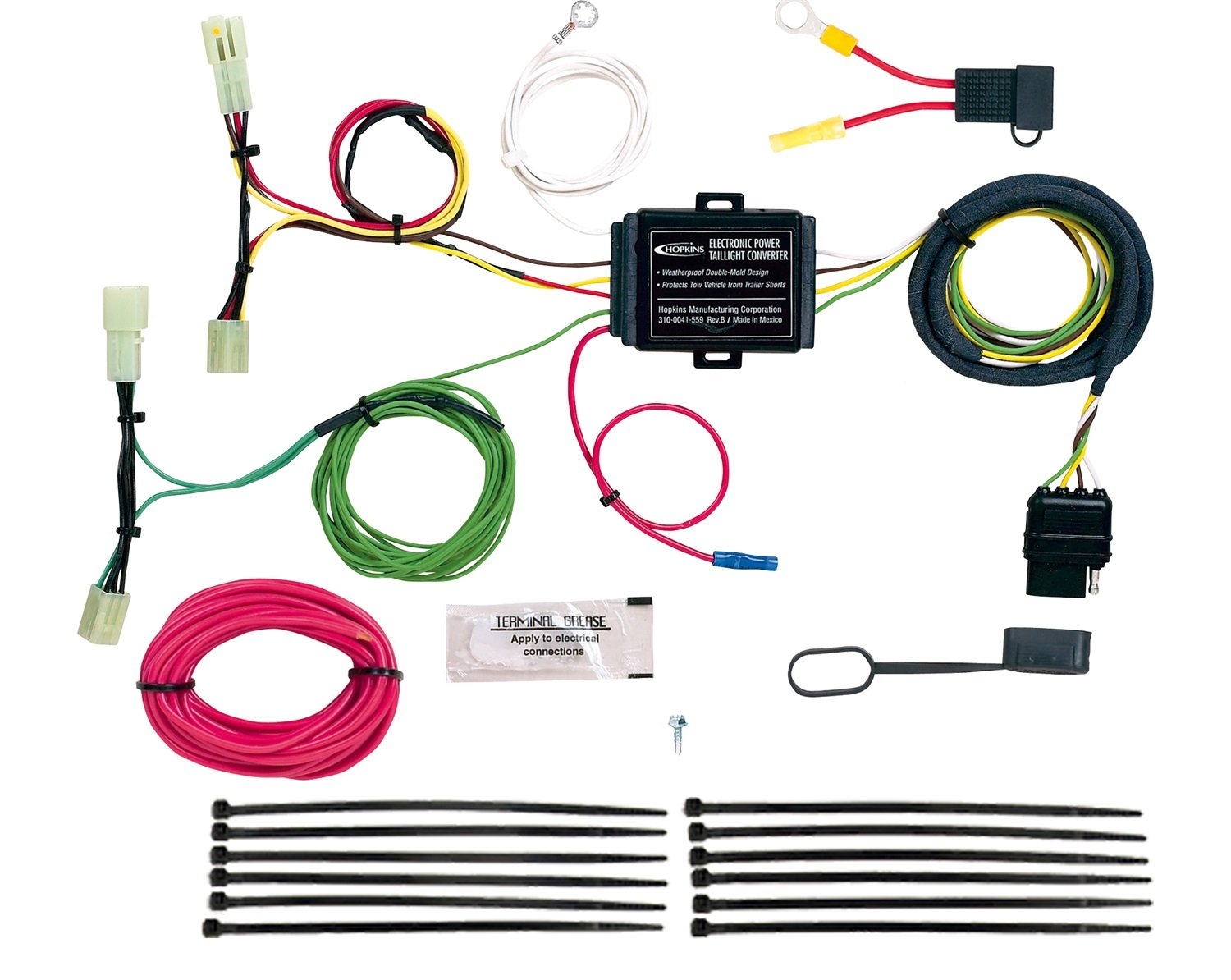 Hopkins 43574 Plug-In Simple Vehicle Wiring Kit Hopkins Manufacturing