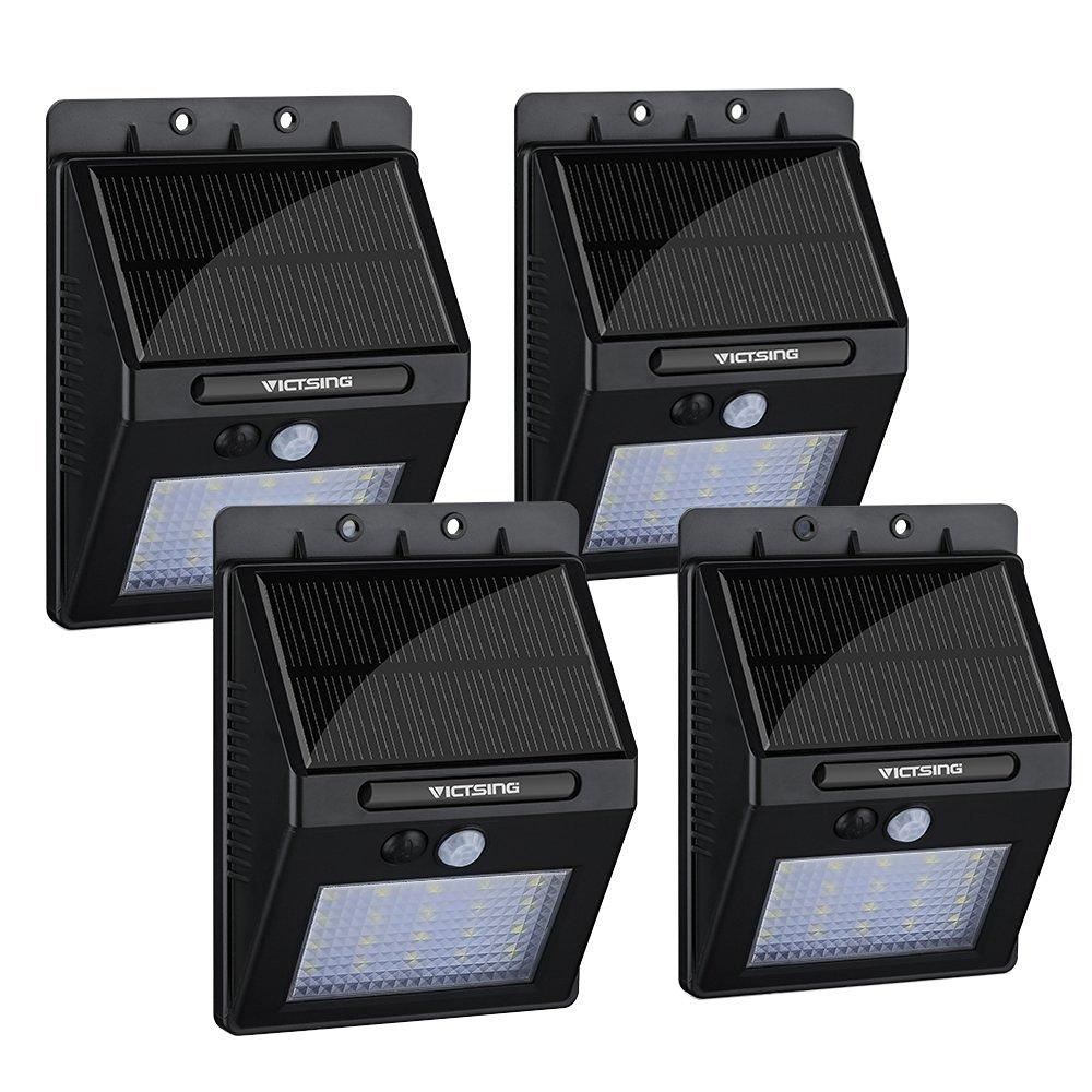 Focos LED solar
