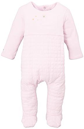 9c46537d16edb Berlingot Baby Girls 0-24m DORS BIEN Double Jersey Sleepsuit