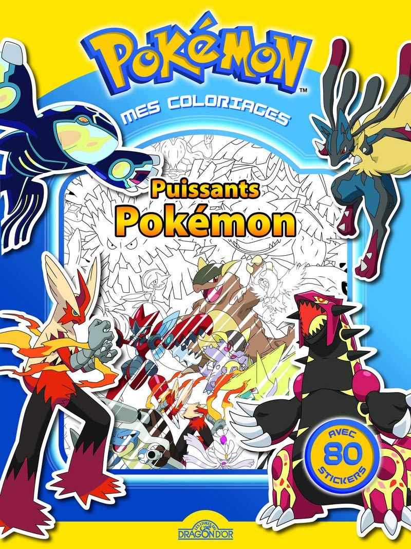 Coloriage Pokemon Puissants Pokemon French Edition The Pokemon Company 9782821204348 Amazon Com Books