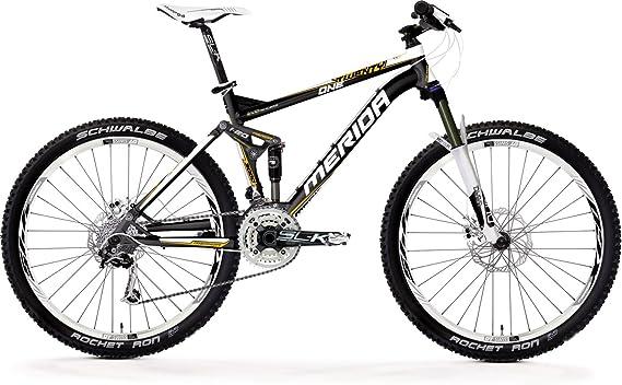 Merida One-Twenty 3000D Metallic Black White (2011) (Frame Size: 50 cm) MTB Full Suspension Bike: Amazon.es: Deportes y aire libre