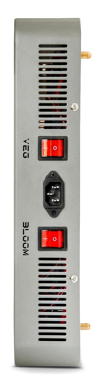 Advanced Platinum P1200 Serie1200W 12-Band LED Wachstumsleuchte Dual Vollspektrum für Blumen und Gemüse PlatinumLED Grow Lights