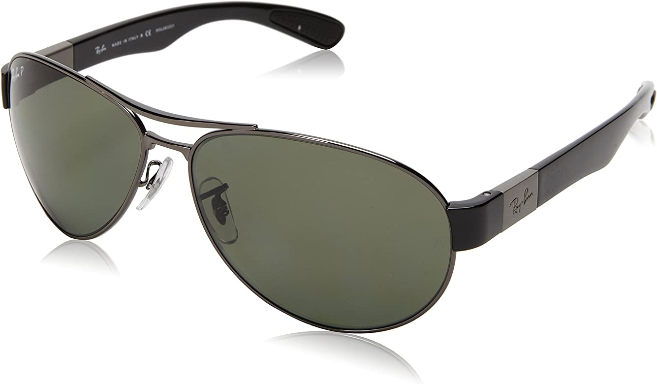 8454d73e80 Ray-Ban 0RB3509 Gafas de sol, Gunmetal, 63 para Hombre: Amazon.es ...