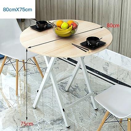Yuan Table Mesa de Centro Plegable pequeña de Cocina y Mesa de ...