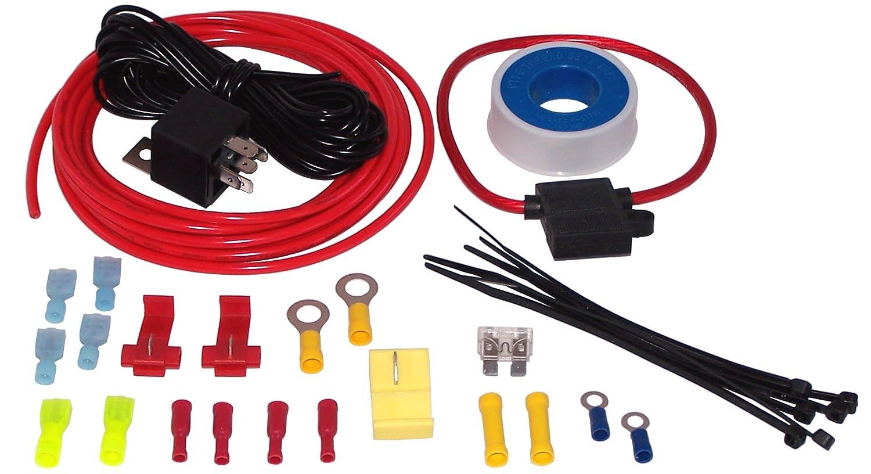 amazon com kleinn air horns 6854 24 v air compressor wiring kit Electronic Circuit Diagrams
