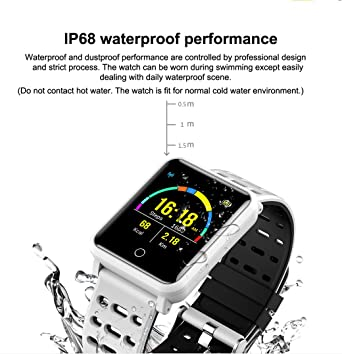 Amazon.com: TagoBee Smart Watch TB06 IP68 Fitness Tracker for Swimming Bluetooth Waterproof Activity Tracker Smart Bracelet for Men Women Kids Smart Band ...
