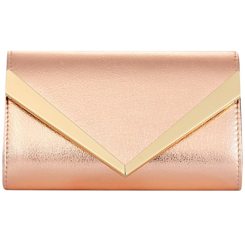 Women Fashion Handbag Shoulder Bags Envelope Clutch Crossbody Purse Leather Lady Bag with Detachable Chain