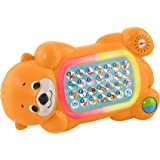 Fisher-Price Linkimals A to Z Otter - Interactive Educational Toy with Music and Lights for Baby Ages 9 Months & Up, Multicol
