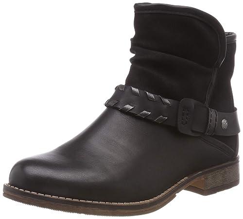 Rieker Damen Stiefel 97770 Stiefelette Boots schwarz RV NEU!
