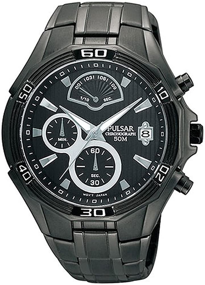 Pulsar Chronograph Stainless Steel Men s watch PS6035