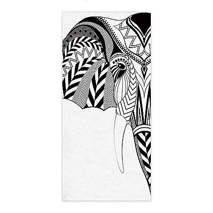 Toalla de baño elefante personalizado diseño único cuarto de baño ducha toalla de baño Wrap para