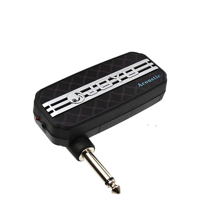 JOYO JA-03 Accoustic Sound Effect - Amplificador de bolsillo para guitarra (conector jack, salida de audio): Amazon.es: Instrumentos musicales