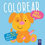 Colorear ¡es fácil! Perro: Con adhesivos