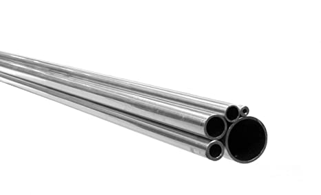 10 mm OD X 6 mm (2,0 mm de pared) 316L tubo de acero inoxidable sin costuras X 500 mm