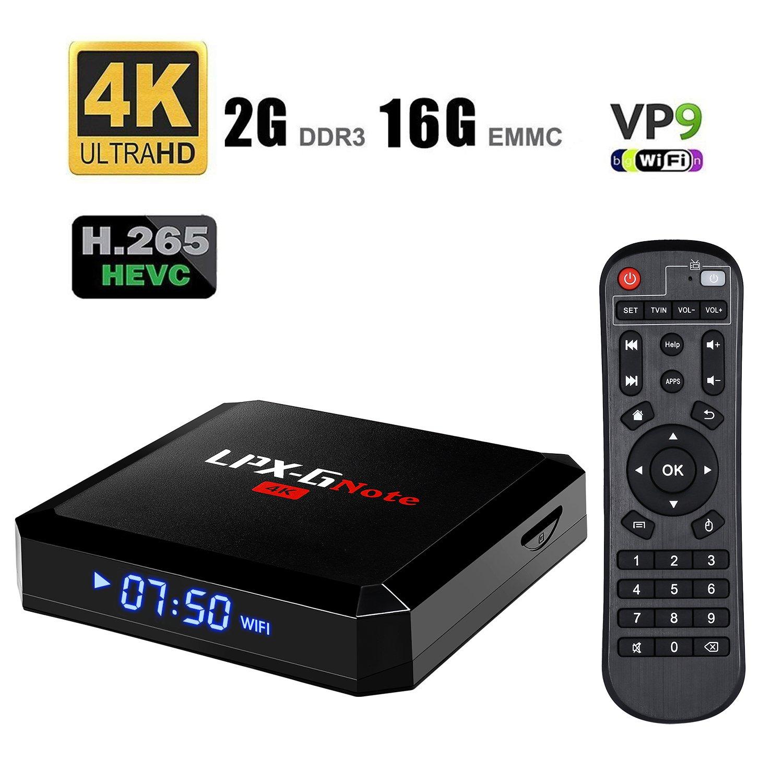 LPX G caja GB  GB BT  Android  TV Box