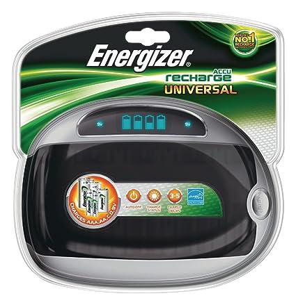ENERGIZER - Cargador para pilas recargables AA LR6 AAA C ...