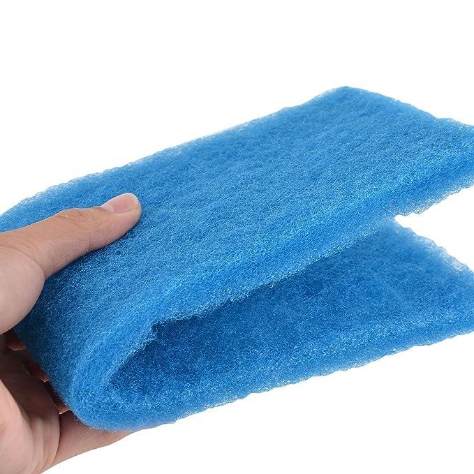 Amazon.com : eDealMax Esponja Acuario Pecera Rectangular bloque de espuma bioquímicos almohadilla del filtro 2 piezas Azul : Pet Supplies