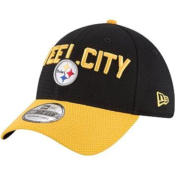 online retailer 28c17 ef748 New Era NFL Pittsburgh Steelers 2018 Draft Spotlight 39Thirty Cap S-M