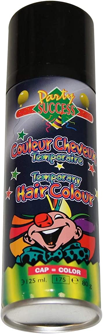 Spray de color para el cabello - Negro