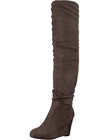2469a0206347 Chinese Laundry Women s Uma Over The Over The Knee Boot