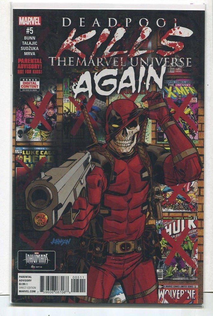 Deadpool Kills The Marvel Universe Again #5 NM Marvel Comics CBX2C