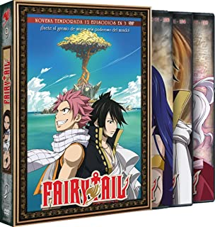 Fairy Tail Temporada 10 Episodios 109 A 120 [DVD]
