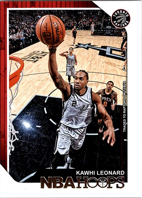pretty nice d3680 c0318 2018-19 NBA Hoops Basketball #13 Kawhi Leonard Toronto ...