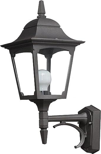 Made in Italia Maiori ma313 Farol Lámpara de pared aplique iluminación de y para exterior jardín de aluminio fabricado en Italia de Valastro Lighting: Amazon.es: Iluminación