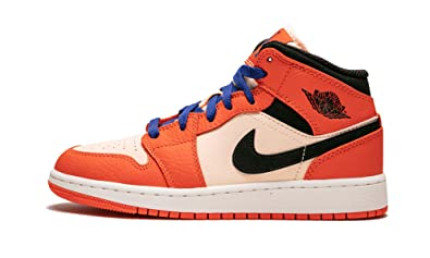 a4d66c4d09f0 Jordan 1 Mid SE Team Orange Black-Crimson Tint (GS) (4