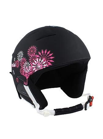 Bolle Casco de Esquí Slide Negro/Rosa 60 cm