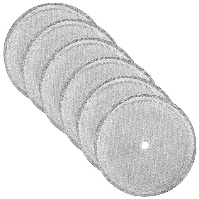 Amazon.com: DaKuan - Juego de 6 filtros de repuesto de malla ...