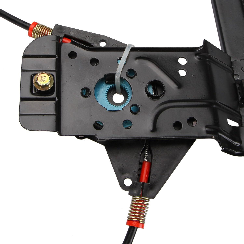 Madlife Garage 6N3837462 Elektrisch Fensterheber 2//3-T/ürer ohne Motor Reparatursatz Vorne Rechts Polo 6N1 6N2