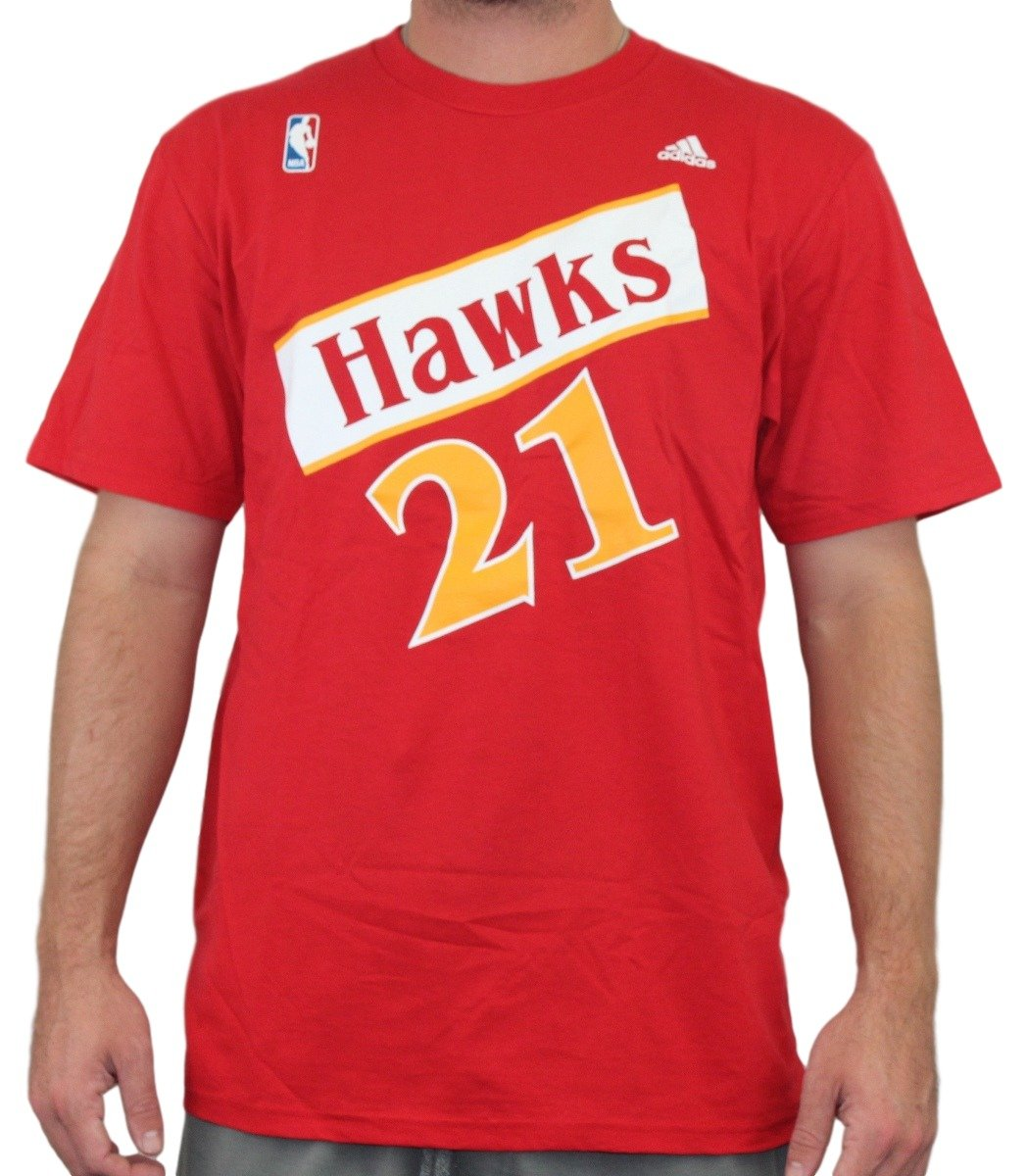 Adidas Dominique Wilkins Atlanta Hawks NBA Soul Swingman Player - Camiseta, Small: Amazon.es: Deportes y aire libre