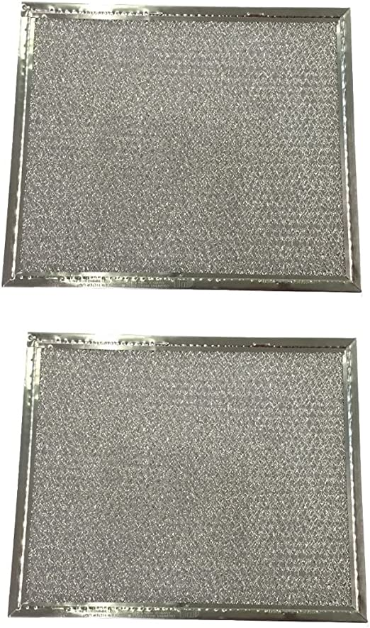 Amazon Com 2 Range Hood Vent Grease Filter 8 X 9 5 X 3 32 Aluminum New Appliances