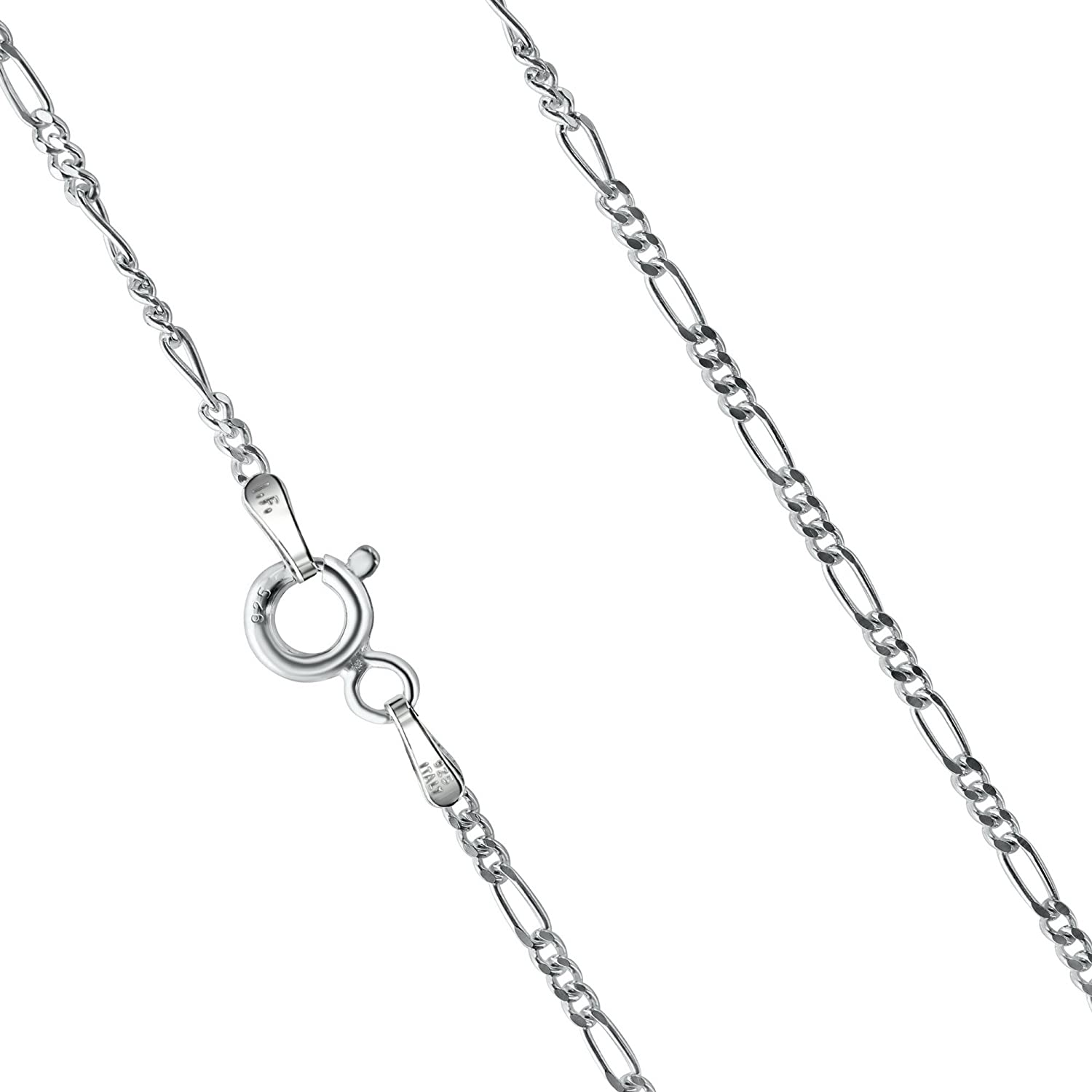 925 Sterling Silver Valter Chain Necklace 6.6 mm 18-32 Solid Silver Chain 925 Sterling Silver Chain Optional Gold or Rhodium Plated