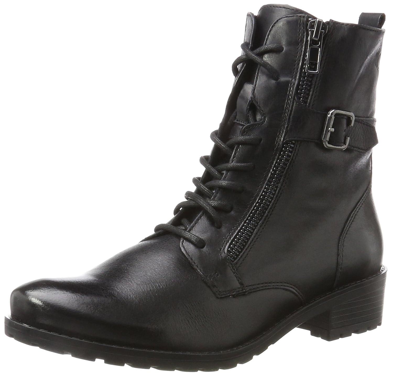Caprice 25103, Botas Militar para Mujer Negro (38)