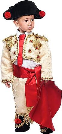 Disfraz TORERO MANOLETE BEB Vestido Fiesta de Carnaval Fancy Dress Disfraces Halloween Cosplay Veneziano Party 50710: Amazon.es: Ropa y accesorios