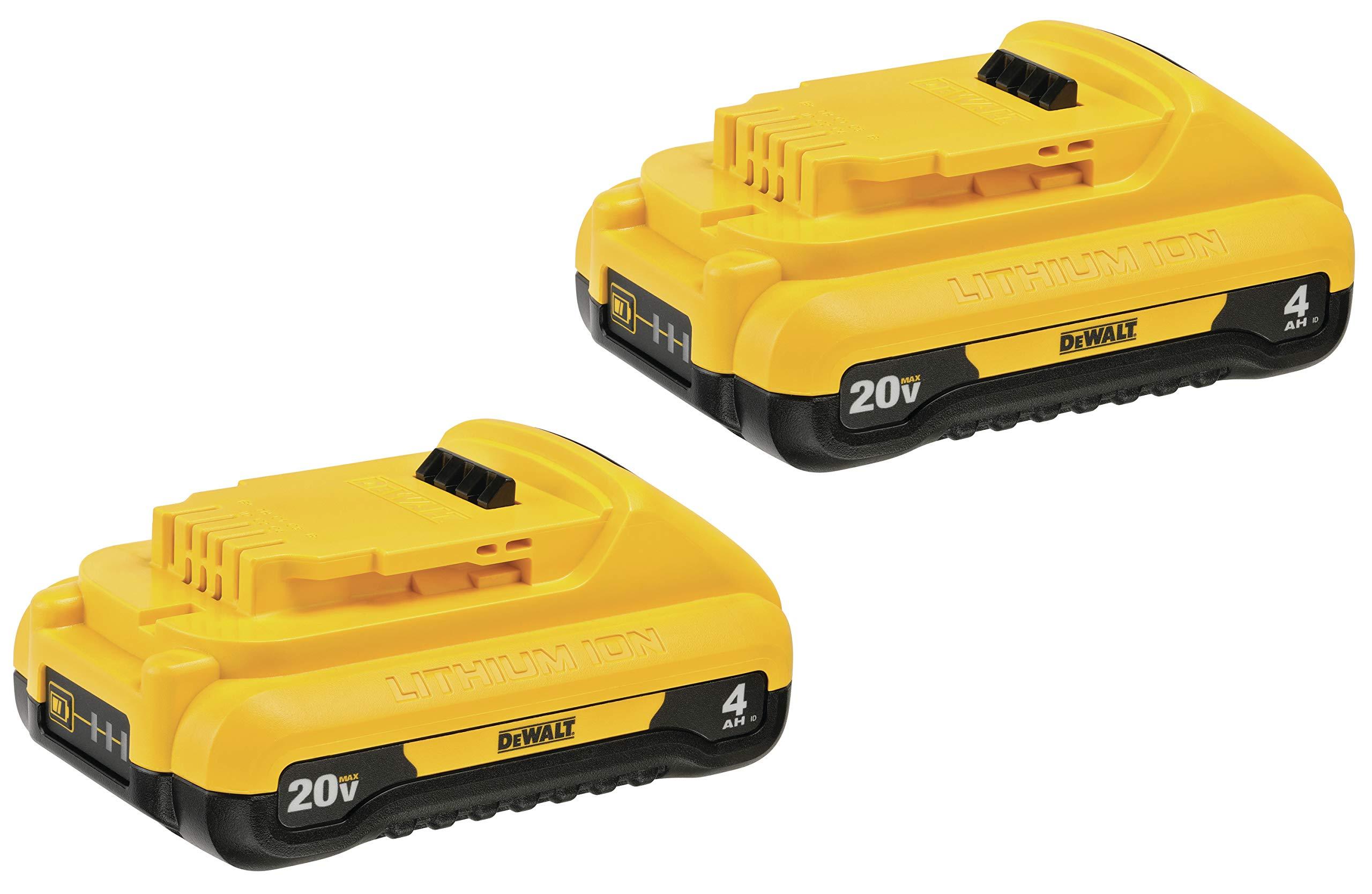 2 Baterias Originales DEWALT 20V MAX 4.0ah DCB240
