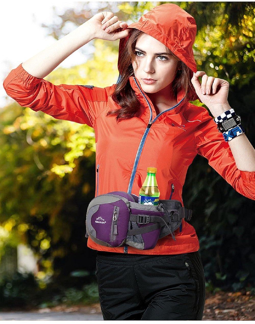 RF Sport Waterproof Waist Bag for Running Travel Outdoor Sports Unisex